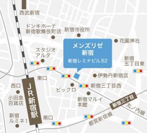 新宿院(仮)地図